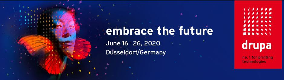 Drupa - no  for printing technologies takes place on June 16-26 in Dusseldorf in Germany